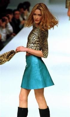 From Carla Bruni to Kate Moss Supermodels Then and Now