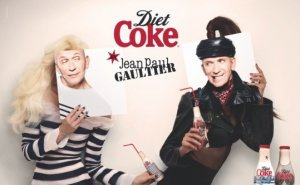 Coca-Cola unveils news bottles designed in collaboration with Jean Paul Gaultier