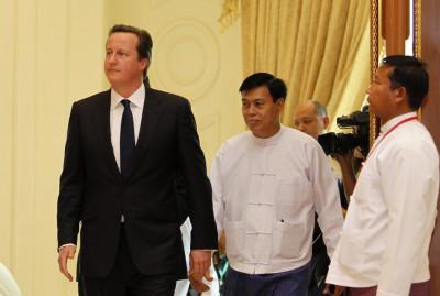 Cameron Visits Burma