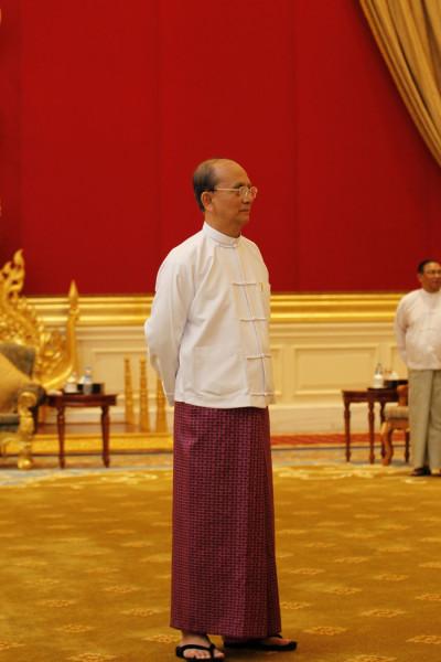 Myanmars President Thein Sein
