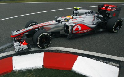 McLarens Lewis Hamilton