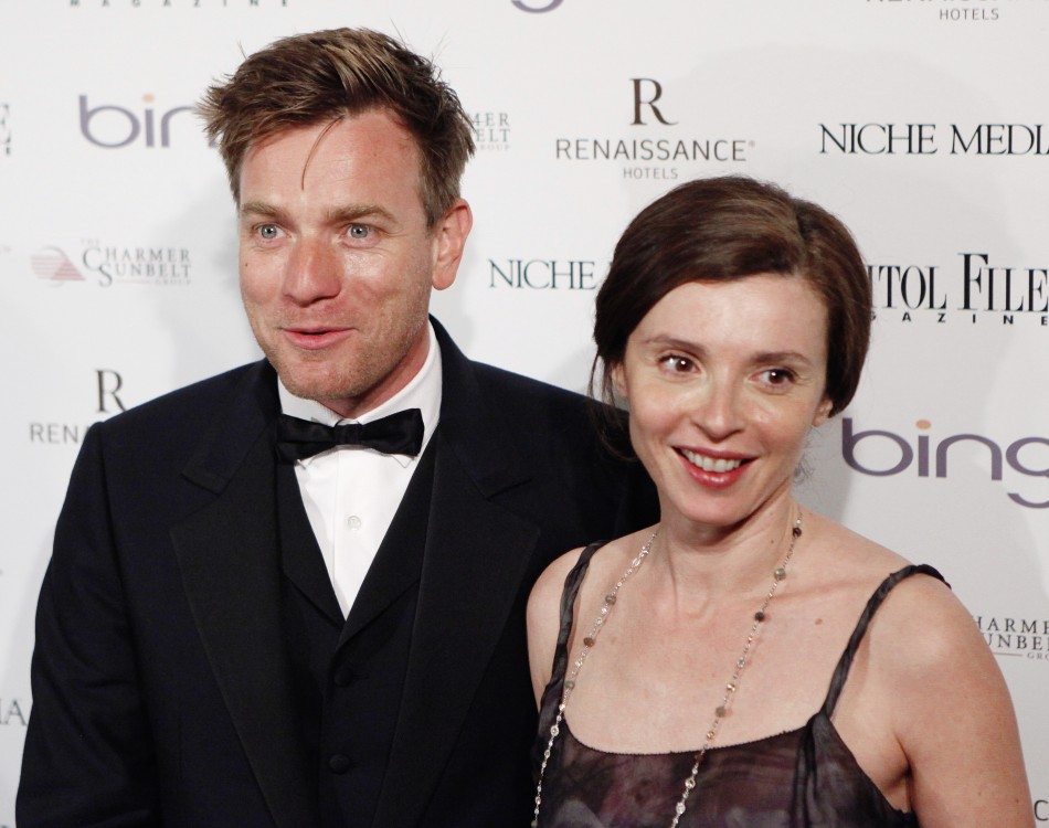 Ewan McGregor with his wife, Eve Mavrakis