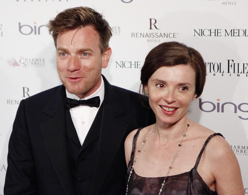 Ewan McGregor with his wife, Eve Mavrakis