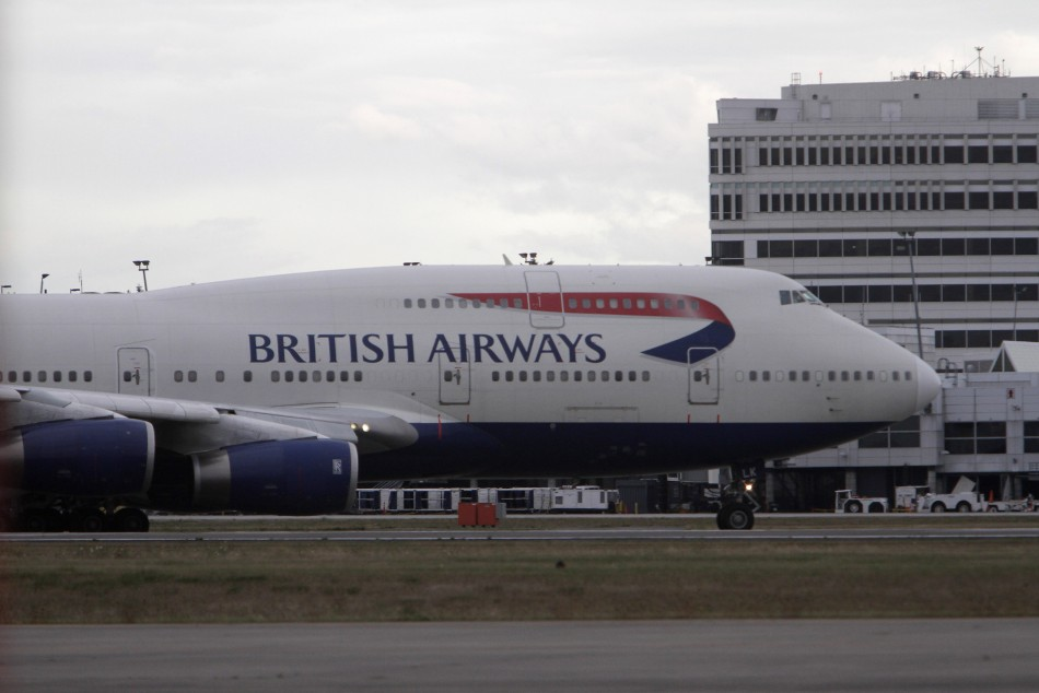 A British Airways Boeing 747