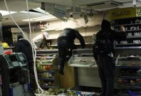 Activists in Bahrain have posted footage of thugs ransacking store