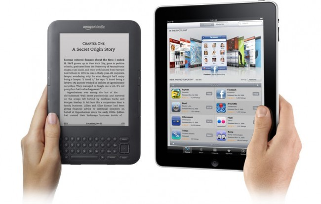iPad and Kindle