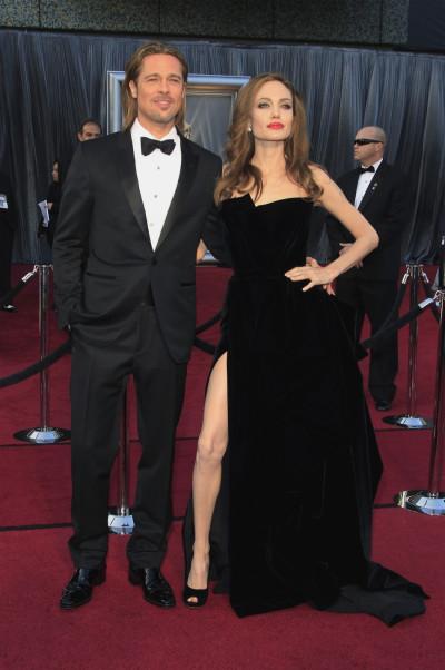Angelina Jolie and Brad Pitt are engaged.