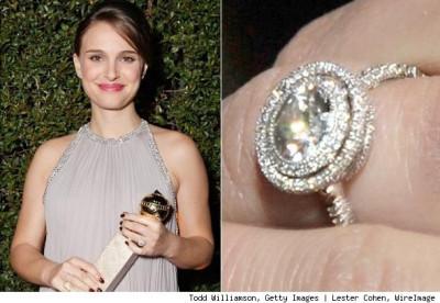 Natalie Portmans Engagement Ring