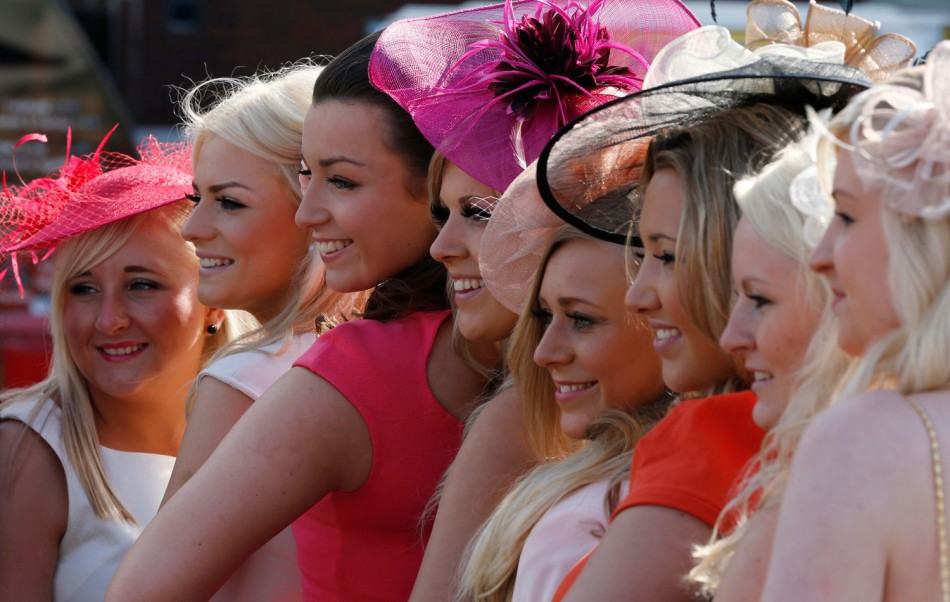 Shocking Shades, Bizarre Fascinators and Killer Heels Dominate 2012 Aintree Ladies Day