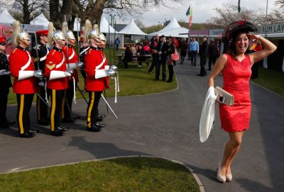 Shocking Shades, Bizarre Fascinators and Killer Heels Dominate 2012 Aintree Ladies Day