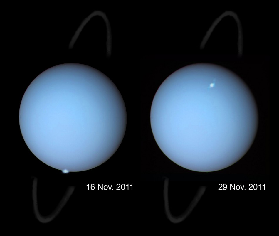 Astronomers Have Captured Unique Images Of Auroras On Uranus