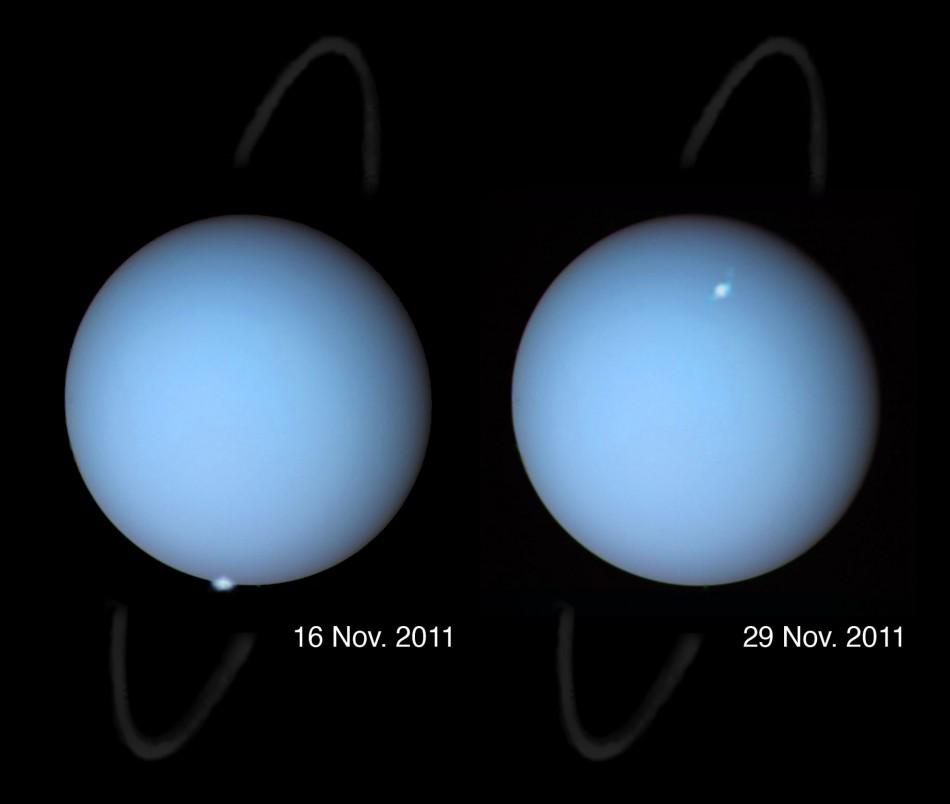 Astronomers Have Captured Unique Images Of Auroras On Uranus