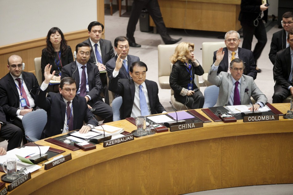 UN Votes on Syria