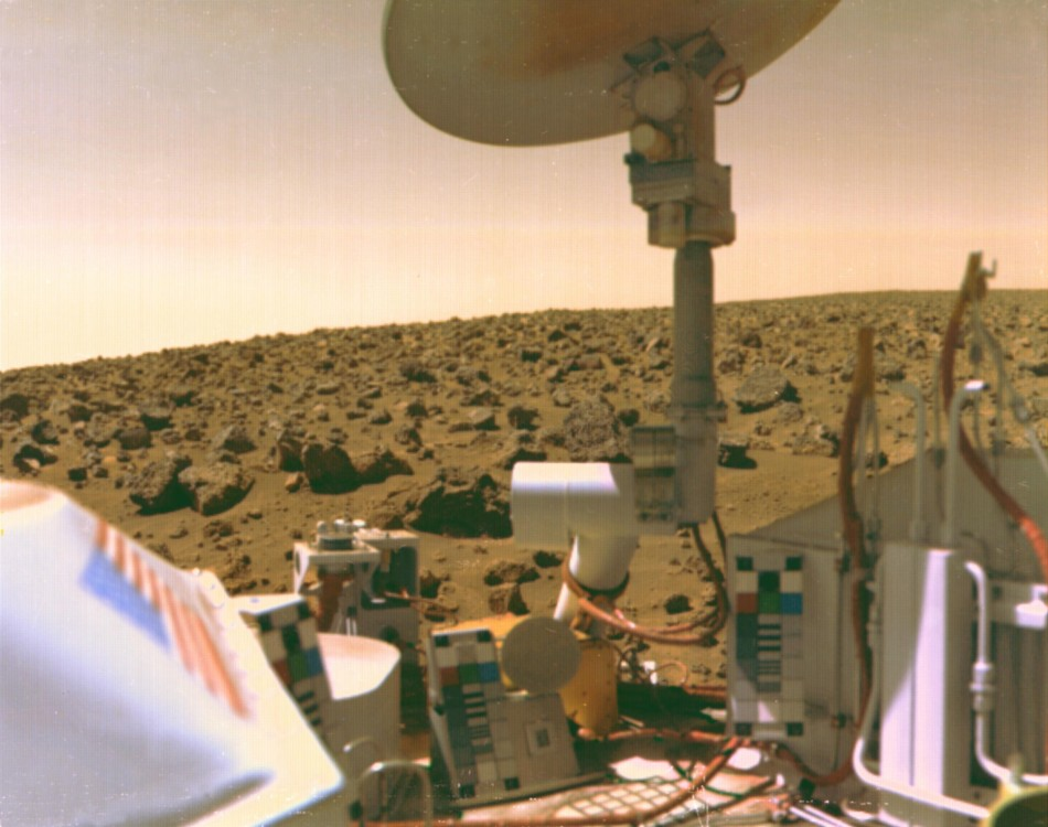 Image from Mars taken by Viking 2.