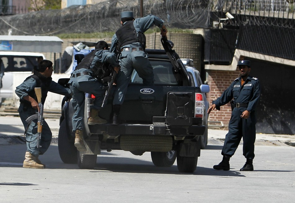 Taliban Targets Embassies in Afghan Capital