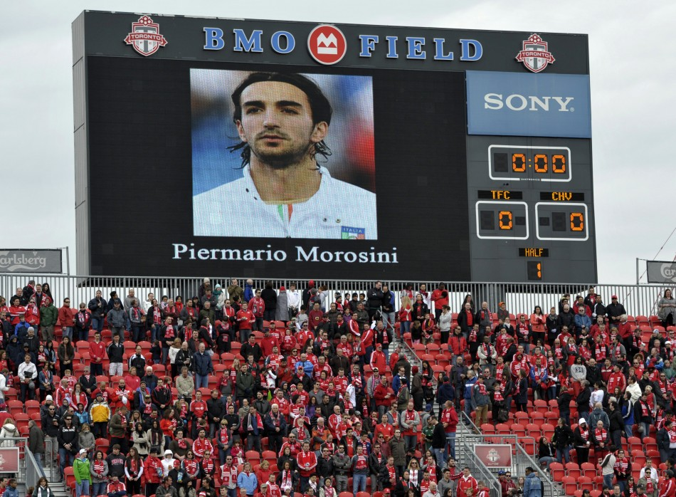 People and Players pay their tribute to Livorno's Morosini