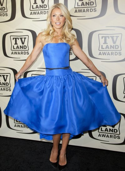 Actress Ripa arrives for the 10th Annual TV Land Awards at the Lexington Avenue Armory in New York