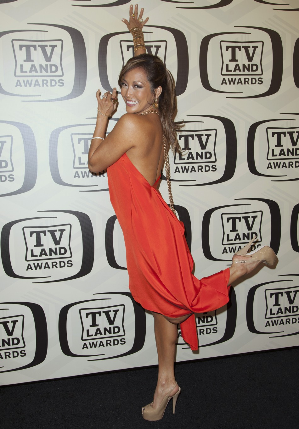 TV personality Inaba arrives for the 10th Annual TV Land Awards at the Lexington Avenue Armory in New York