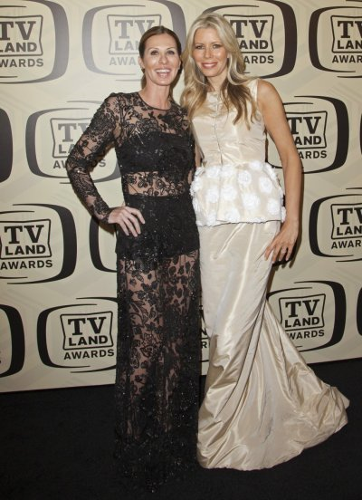 TV personalities Radziwill and Drescher arrive for the 10th Annual TV Land Awards at the Lexington Avenue Armory in New York