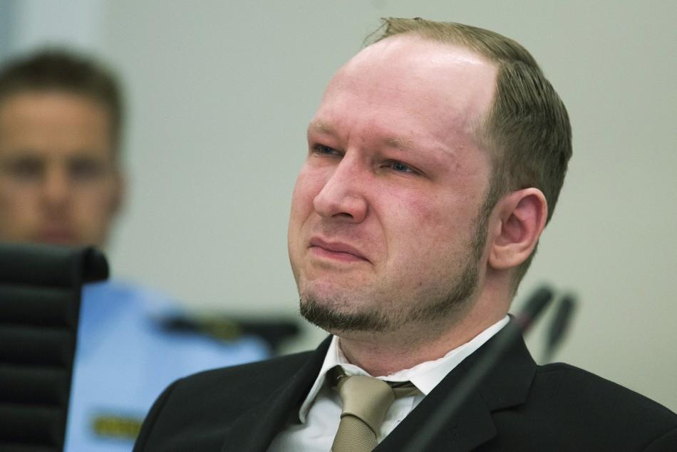 Breivik cries