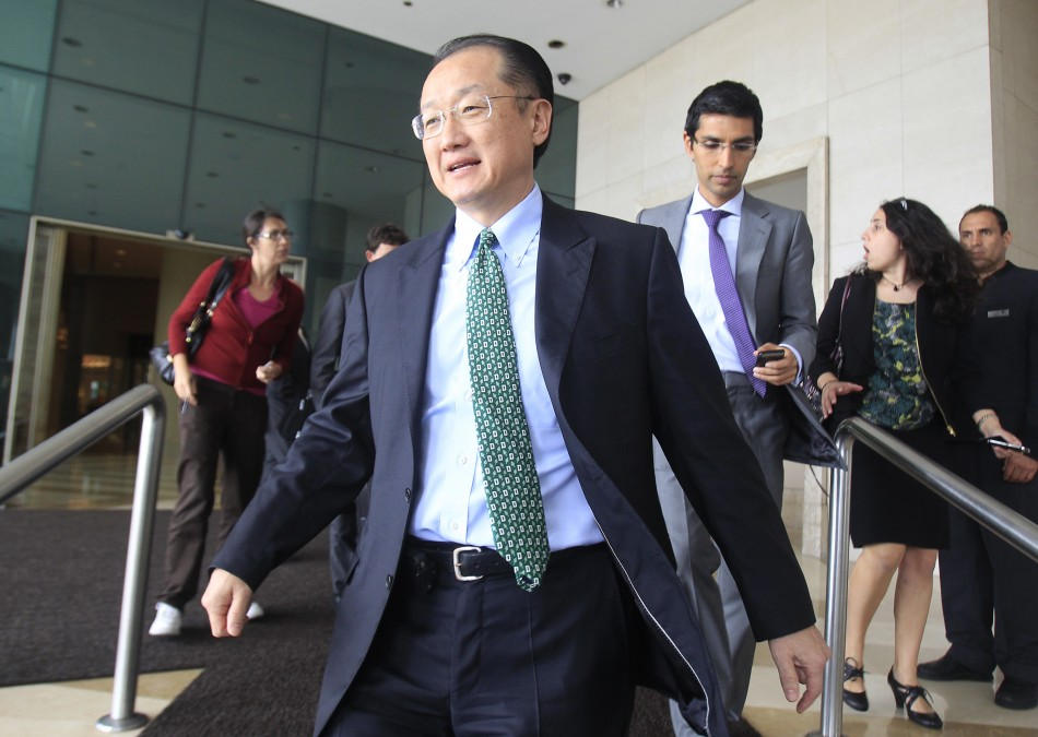 New World Bank President Jim Yong Kim