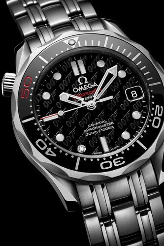Omega Celebrates 50 Years of James Bond films with New Collector Pieces