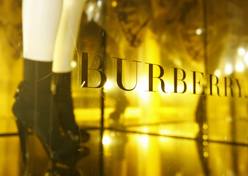 Burberry Posts Second Half Sales Rise
