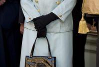 """Queen Elizabeth II in 'blue"""""""