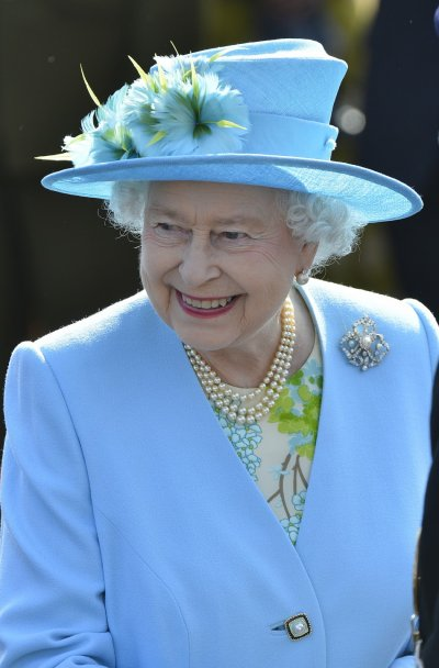 Queen Elizabeth II in 039bluequot