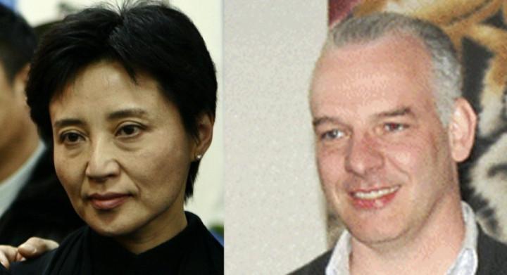 Gu Kailai (left) is accused of murdering businessman Neil Heywood (Reuters)