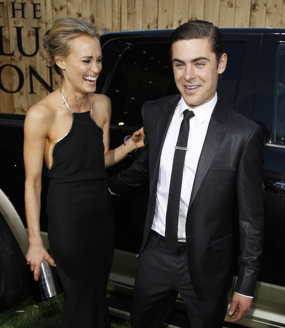 Taylor Schilling and Zac Efron - £37.8m