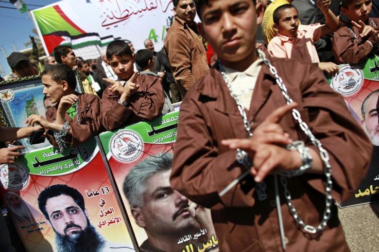 Palestinian prisoners hunger strike