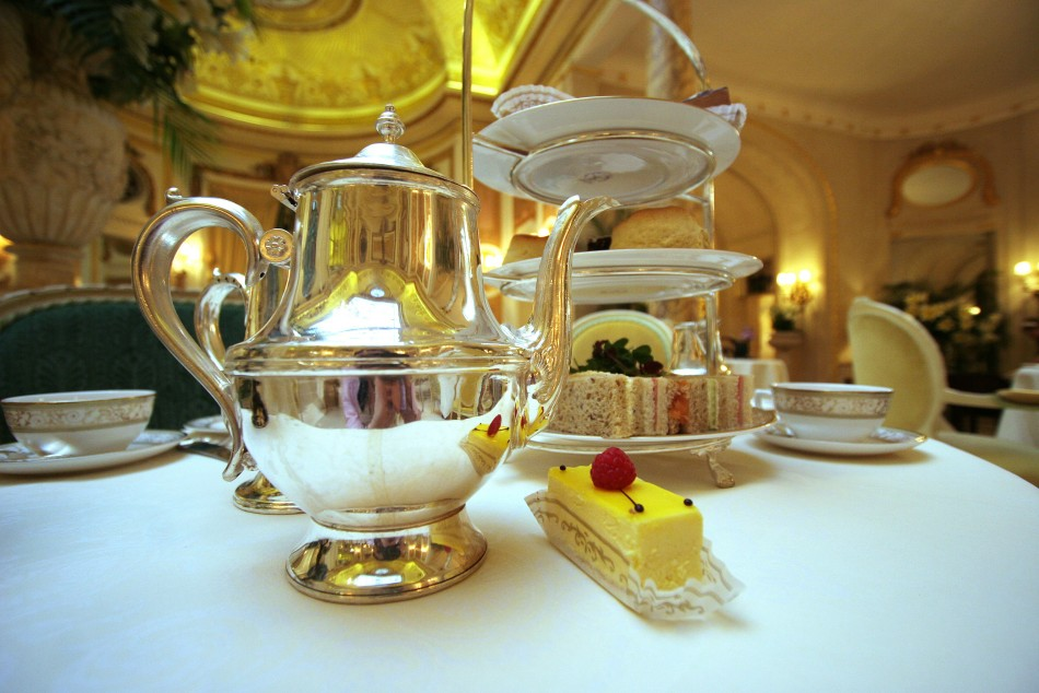 Afternoon tea: Remember to point your pinkie