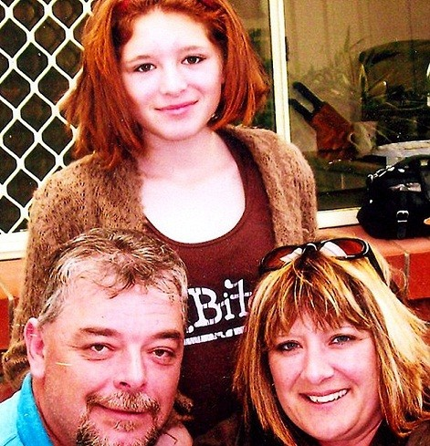 Chantelle Rowe was murdered along with her parents Andrew and Rosemary
