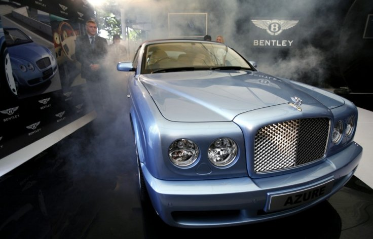 A ménage-et-cinq of cars collided in Monte Carlo last year, causing £700,000 of damages to cars including a Bentley Azure like this one