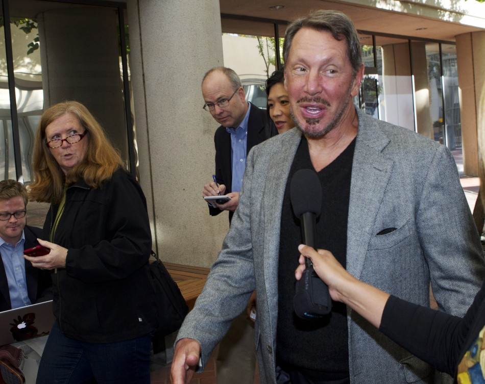 Larry Ellison Takes the tand in Google/Oracle Trial