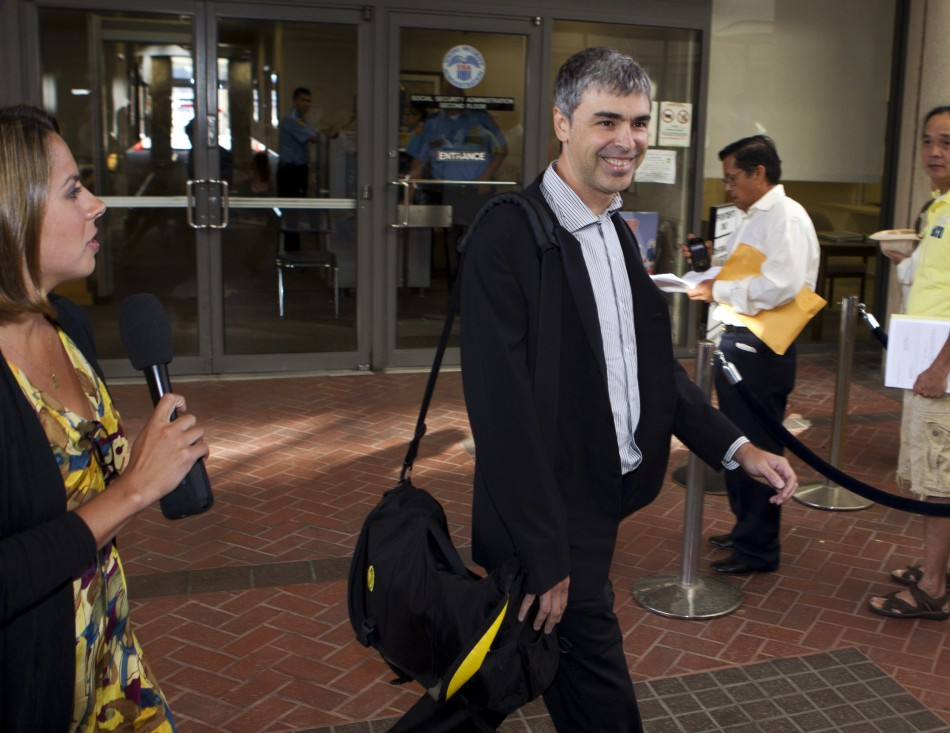 Google CEO and co-founder, Larry Page