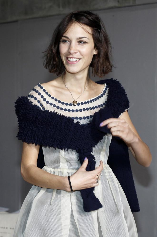 Alexa Chung in February 2011
