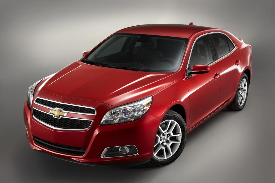 9. 2013 Chevrolet Malibu.