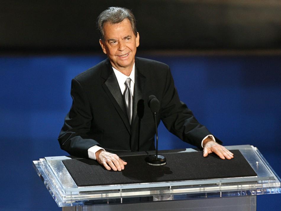 Legendary US TV host Dick Clark