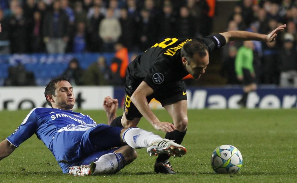 Chelsea v Barcelona - Champions League - Semi Finals - First Leg Stamford Bridge