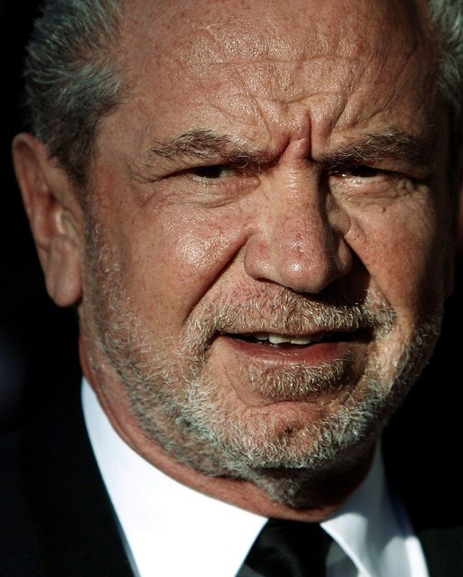 Lord Sugar has advised people not to vote for Ken Livingstone on Twitter