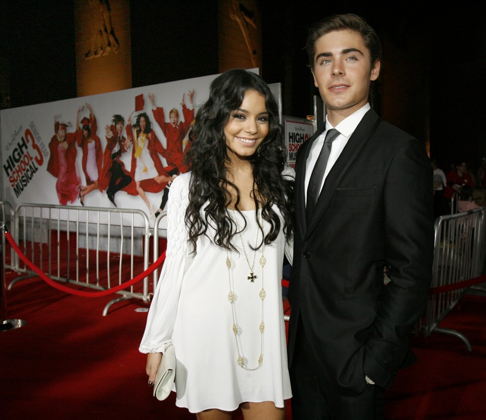how long has zac efron and vanessa hudgens been dating