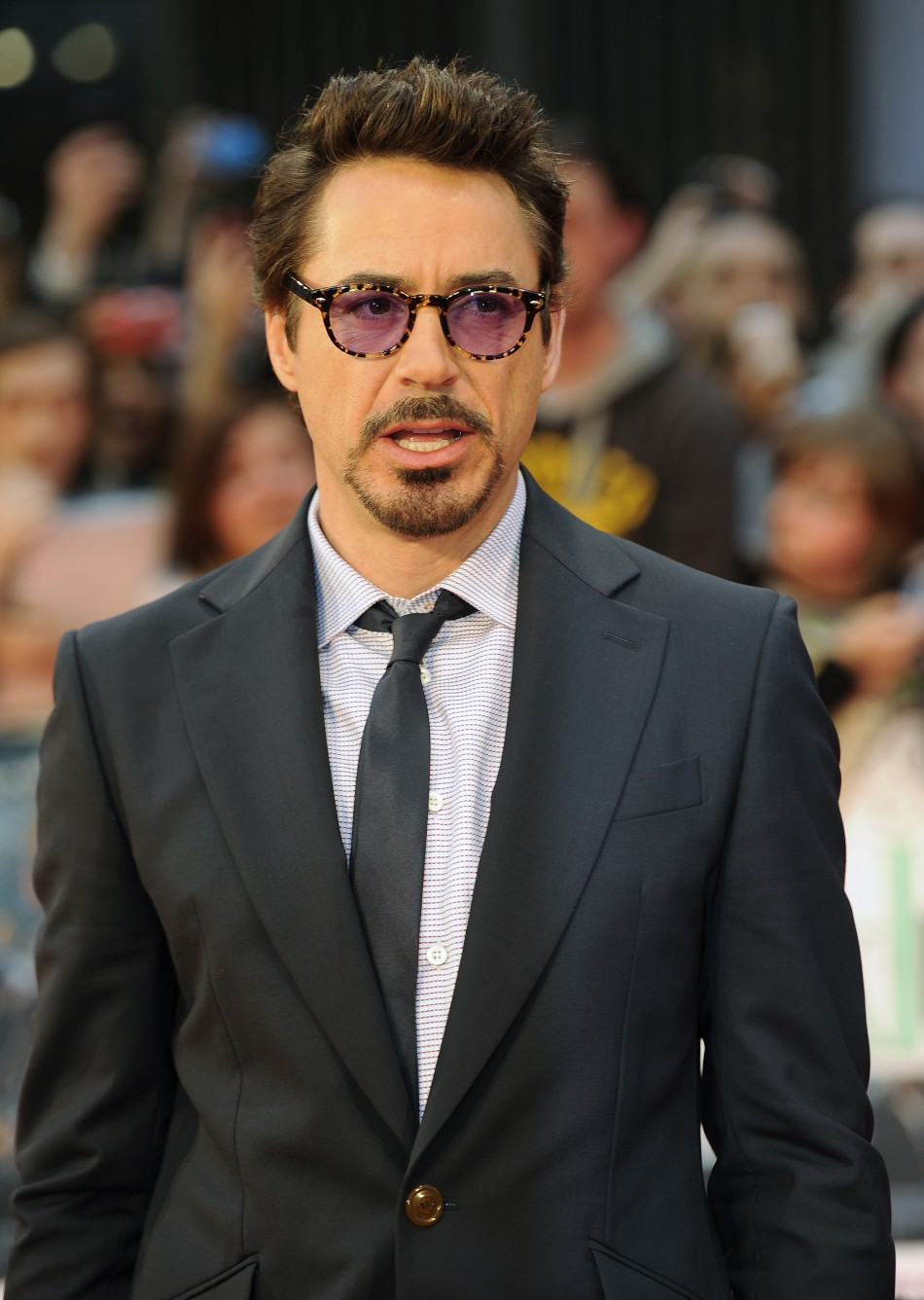 Robert Downey Jr. in European 'Avengers' Premiere Red Carpet