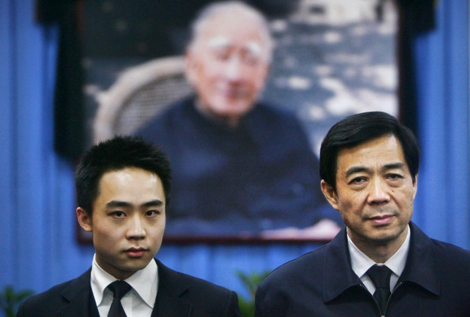 Bo Xilai and his son Bo Guagua