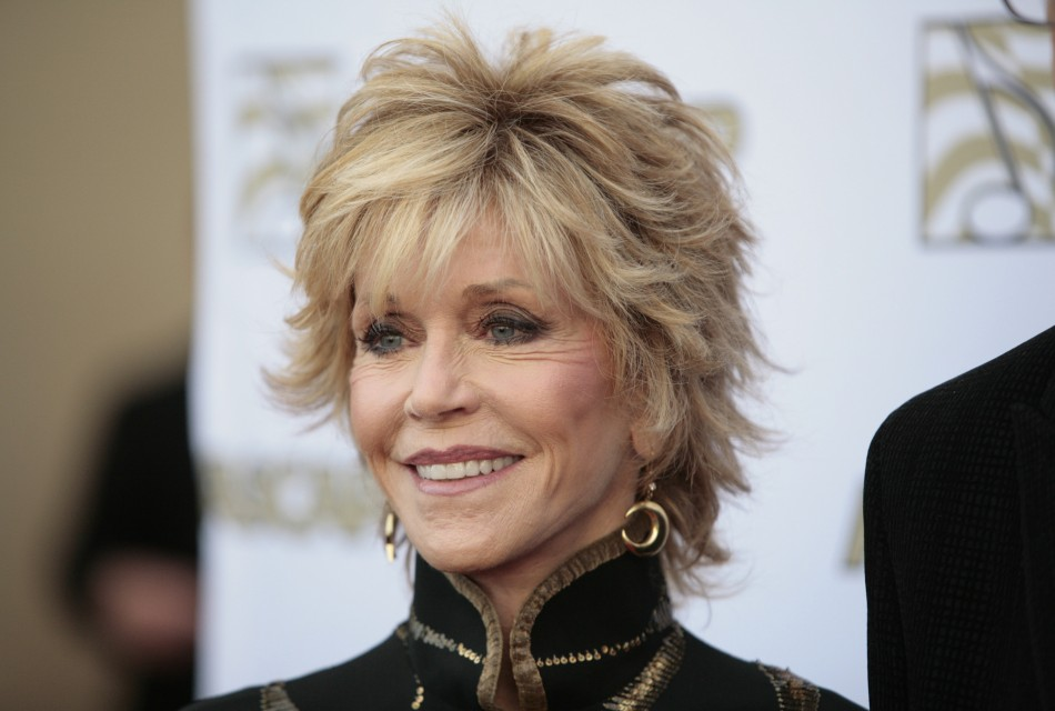 Actress Jane Fonda arrives at the 29th Annual ASCAP Pop Music Awards in Hollywood, California