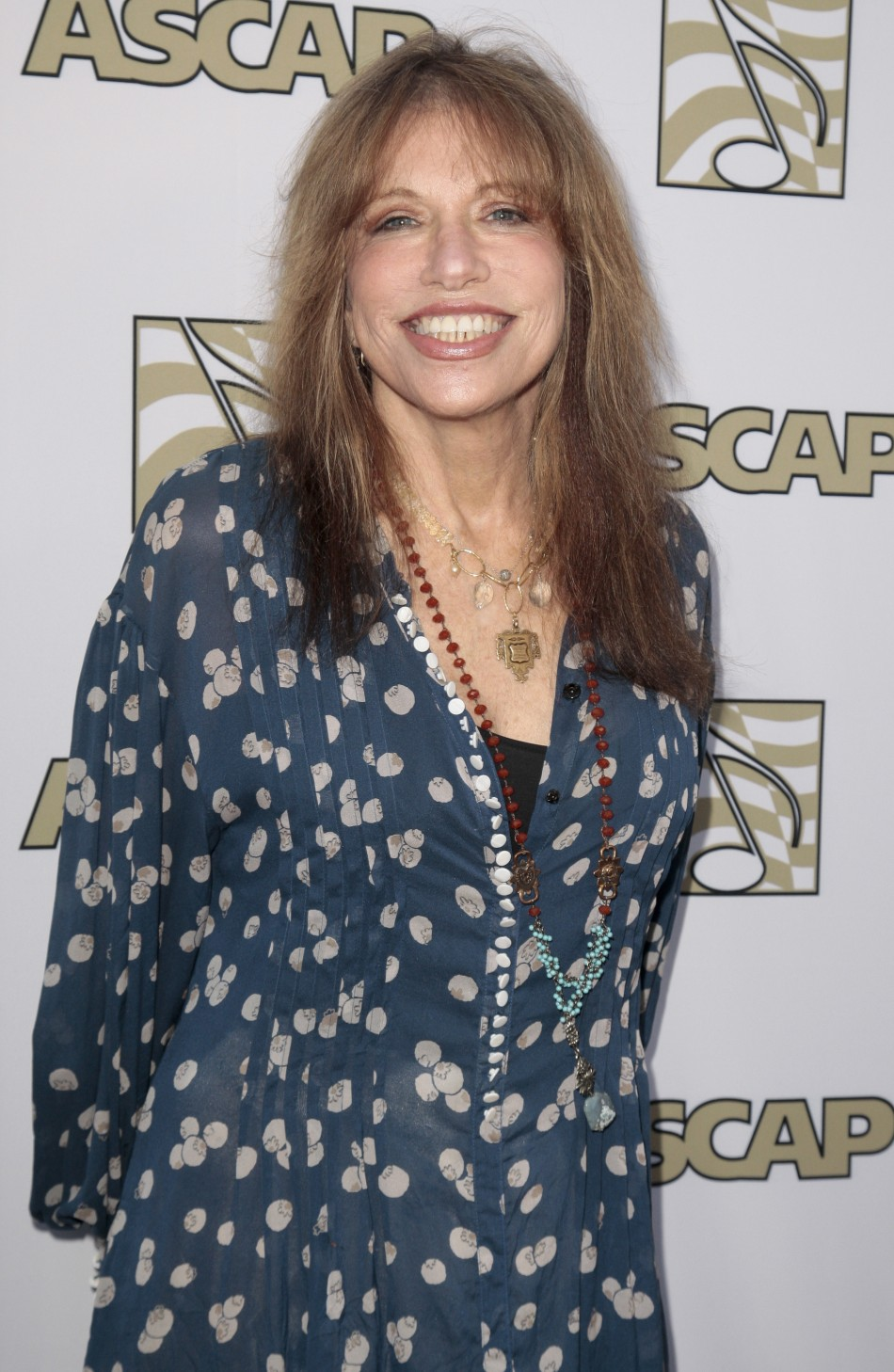 Singer-songwriter Carly Simon arrives at the 29th Annual ASCAP Pop Music Awards in Hollywood, California