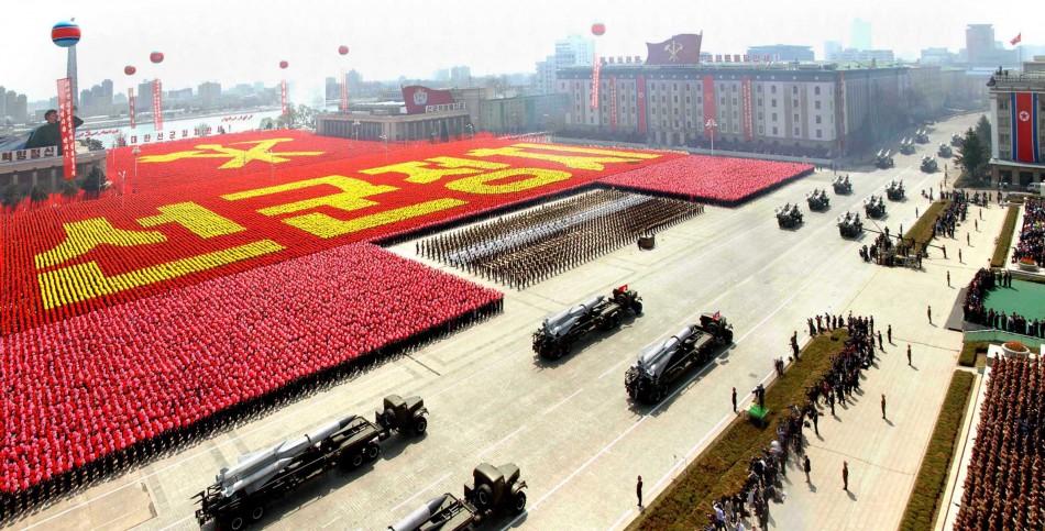 North Korea's Mass Parade
