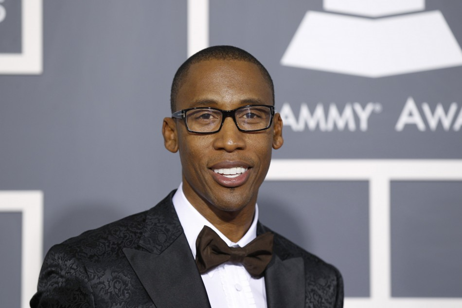 Singer Raphael Saadiq arrives at the 53rd annual Grammy Awards in Los Angeles