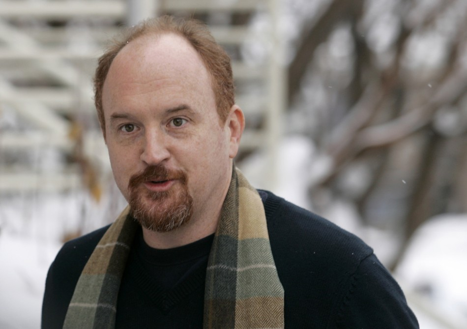 "Director and stand-up comedian Louis C.K. arrives for premiere of film ""Hilarious"" at Sundance Film Festival in Park City"